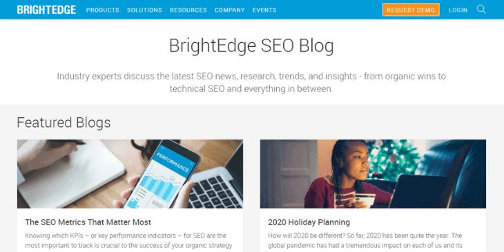 brightedge seo blog